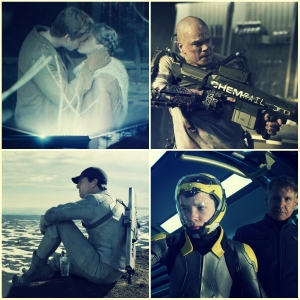 Sci -fi film 2014 collage